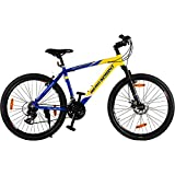 #7: Hero Octane Endeavour 26T 21 Speed Adult Bicycle - Yellow & Blue(18