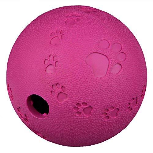 Trixie 34942 Snackball, Naturgummi, ø 9 - Katzenspielzeug Snackball