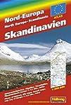 Skandinavien / Nord-Europa Atlas: Str...