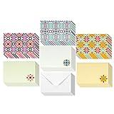 Best Greetings 48pezzi assortiti per tutte le occasioni di carta bianca vintage note Cards for Her biglietto d' auguri Bulk box set–Design fiore floreale design biglietti con buste incluse 10,2x 15,2cm