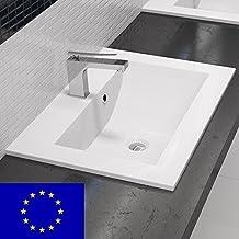 Waschbecken eckig mit unterschrank  Suchergebnis auf Amazon.de für: waschtisch eckig unterschrank