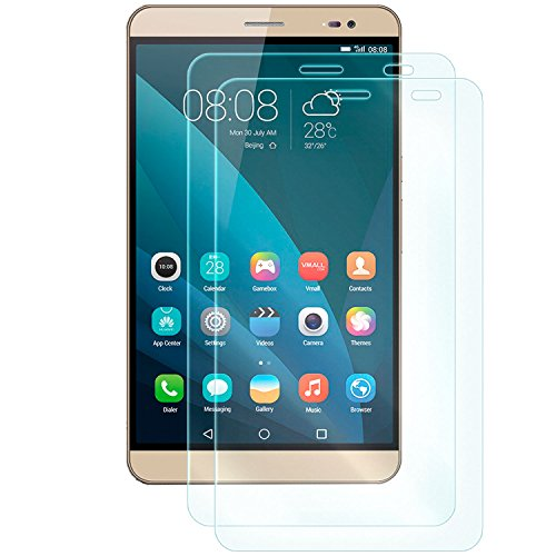 dreiF 2X Display Schutzglas für Huawei MediaPad X1 / X2 (7.0 Zoll) | Härtegrad 9H | Kratzfest + Abwaschbar | Sensible Touchfunktion bleibt erhalten