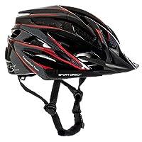 """Sport Direct """"Team Comp 24 Vent Bicycle Helmet Mens Graphite 58-61cm CE EN1078:2012+A1:2012"""