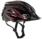 Sport DirectTM Herren Fahrradhelm Team Comp 24 Vent Graphit 58-61 cm CE EN1078:2012+A1:2012