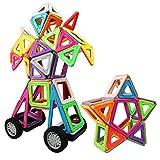 Magnetische Bausteine, Innoo Tech 77Teile größe Bauklötze, Inspirierender Standard Bausatz, 2rd Generation, Konstruktionsbausteine Magnetspielzeug, populäres pädagogisches Lernspiel, Tolles Geschenke für Baby Kleinkind ab 3 Jahre