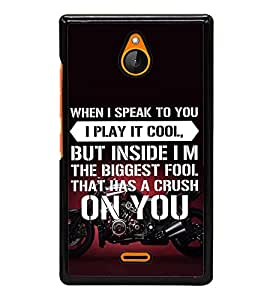 ifasho Designer Back Case Cover for Nokia XL (Respective Arts And Entertainment)