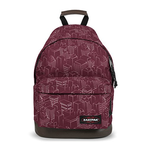 Eastpak WYOMING Sac à dos loisir, 40 cm, 24 liters, Rouge (Merlot Blocks)