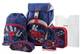 Sammies by Samsonite Ergonomic Schulranzen-Set 5-tlg Marvel FL Spiderman Pop 41 spiderman pop