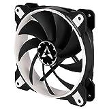 Arctic BioniX F120 - 120 mm Gaming Gehäuselüfter mit PWM PST, Case Fan mit PST-Anschluss (PWM Sharing Technology), Reguliert RPM synchron - Weiß