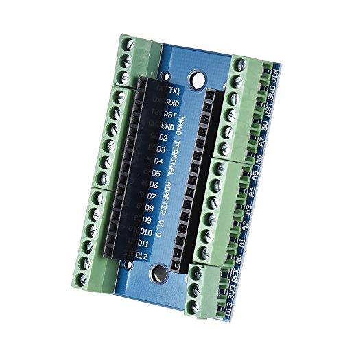 Docooler Placa adaptadora de Placa de expansión Nano 3.0 para Arduino Nano 3.0 V3.0