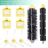 Yomekoly Kit d'accessoires pour aspirateur iRobot Roomba, 700 Series