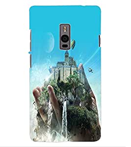 ColourCraft Creative Image Design Back Case Cover for OnePlus Two