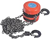 1 ton paranco a catena di blocco Hug Flight Heavy Duty Farm Tackle motore puleggia di sollevamento...