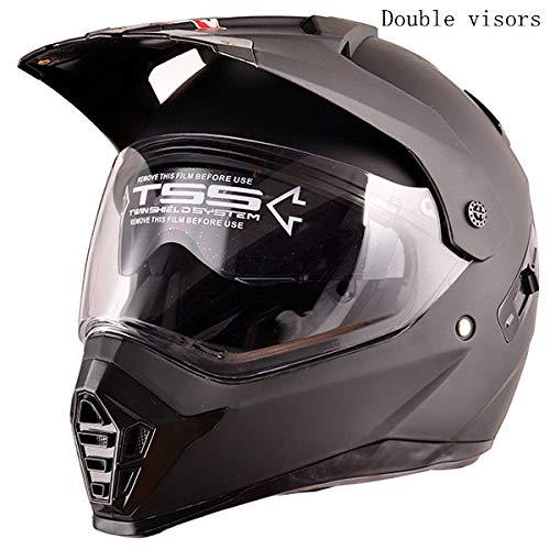 Magneto Kostüm Frauen - Neuer Motocross Helm Full Face für Männer und Frauen als Monster 168 Doppelvisier M