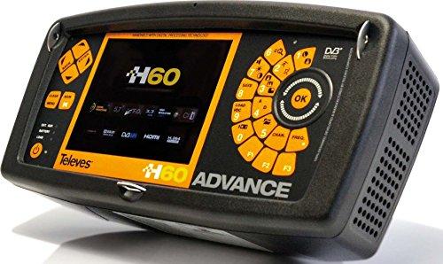 TELEVES - MEDIDOR CAMPO H60 FULL HD+CIRCUITO IMPRESO+DVBT2+3 3GHZ+ FIBRA OPTICA