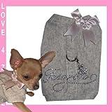 XXS Schatz Chihuahua Softgeschirr Hundemantel Hunde Pullover Hoodie für kleine