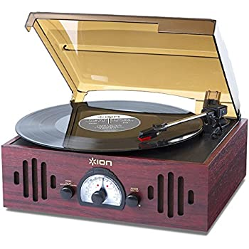wooden retro turntable 3 speed am electronics. Black Bedroom Furniture Sets. Home Design Ideas