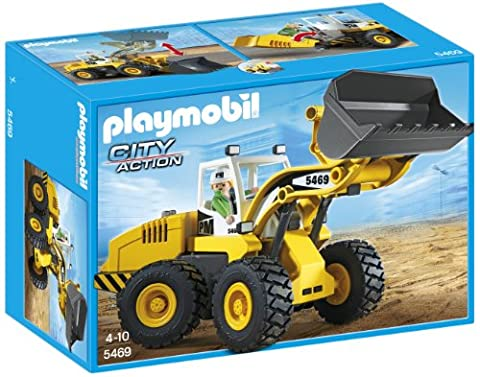 Playmobil Camion Benne - Playmobil - 5469 - Figurine - Chargeuse