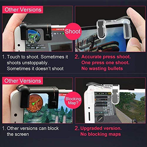 [Get Discount ] Geeky PUBG Mobile Game Controller, Metal (Android & iOS Phones) 5103IiO0DOL