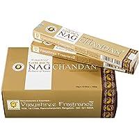 Pamai Pai® 180g NAG CHAMPA SANDELHOLZ - Grundpreis: 6,66€/100g - Sandalo Golden Nag Chandan Sandelwood Räucherstäbchen... preisvergleich bei billige-tabletten.eu