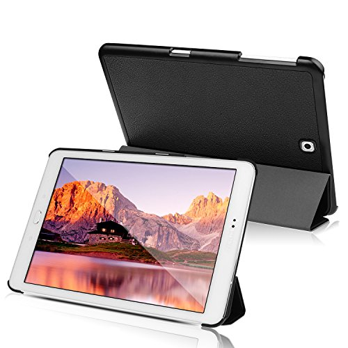 JETech Custodia per Samsung Galaxy Tab S2 8,0, con Funzione di Supporto, Auto Svegliati/Sonno, Nero