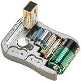 tka Köbele Akkutechnik Batterieprüfer: Digitaler Profi-Batterietester mit LCD-Anzeige (Batteriemessgerät)