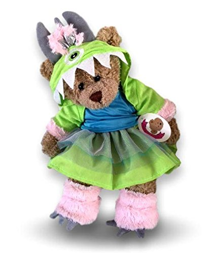 Bear A Build Kostüm - Build your Bears Wardrobe Teddybär-Kostüm Monster AG, 38 cm