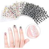 somarke 3d Nail Art Sticker adhesivo uñas tips-50diferentes hojas de estilo Fashion Manicura Nail Decal