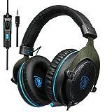SADES Xbox One PS4Gaming Headset R33,5mm Wired Over-Ear Noise Cancelling Gaming Kopfhörer mit Mikrofon Mikrofon Lautstärkeregler für Mac/PC/Laptop/Xbox One/Playstation 4