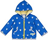 loud + proud Unisex Baby Jacke Woll-Anteil, Druck, Blau (Pacific Pa), 80 (Herstellergröße: 74/80)