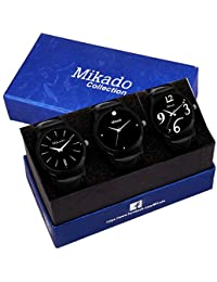 Mikado Exclusive Watches Combo For Men's And Boy's Watch - For Men