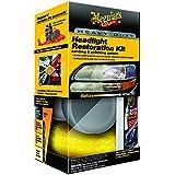 Meguiar`s ME G3000 Heavy Duty Headlight Restoration Kit Cleaner/ Coating/ Accessoires, 118 ml