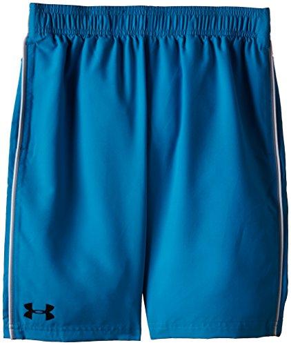 Under Armour Jungen Fitness - Hose und Shorts UA Edge, Pool Blue, XL -