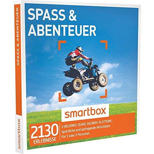 SMARTBOX - Geschenkbox - SPASS & ABENTEUER - 2130 Erlebnisse aus den Kategorien sportliche und aufregende Aktivitäten