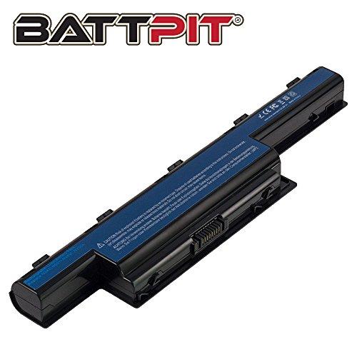 BattPit® Laptop Akku für Acer AS10D31 AS10D51 AS10D56 AS10D75 AS10D81 AS10D61 AS10D41 AS10D73 AS10D71 AS10D3E Aspire 5742 5750 5733 7750G Laptopakku Ersatzakku Batterie [6 Zellen/4400mAh/48Wh]