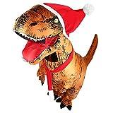 Aufblasbare Dinosaurier T-Rex Kostüm Party Fancy Kleid Cosplay Outfit