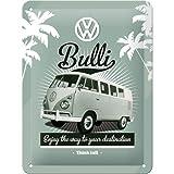 Nostalgic-Art 26142 Volkswagen - VW Retro Bulli, Blechschild 15x20 cm