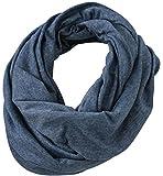 Heather Summer Loop-Scarf - ein schickes Accessoire für das ganze Jahr Farbe Blue Melange