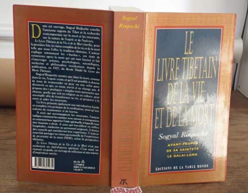 Le livre tibétain de la vie et de la mort par Sogyal Rinpoché