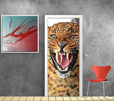 StickersNews Aufkleber für Tür, Gepard OEM 845, 93x204cm