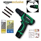 Tools Centre Imported Cordless Screwdriver Cum Hammer Drill Machine With Drill Bit Set