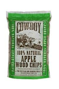 DURAFLAME COWBOY INC - Wood Chips, Apple, 2-Lbs.