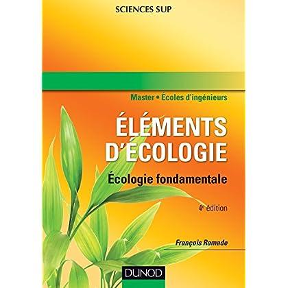 Ecologie fondamentale - 4e édition