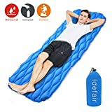Best Camping Pads - Idefair Inflatable Sleeping Pad,Ultralight Camping Mats Mattress Waterproof Review