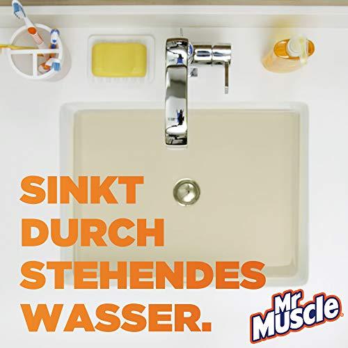 Mr Muscle Flüssiger Rohr-Reiniger, Für alle Rohrarten gegen starke Rohr-Verstopfungen, 1000 ml, Mr Muscle Drano Max Power-Gel Rohrfrei - 4
