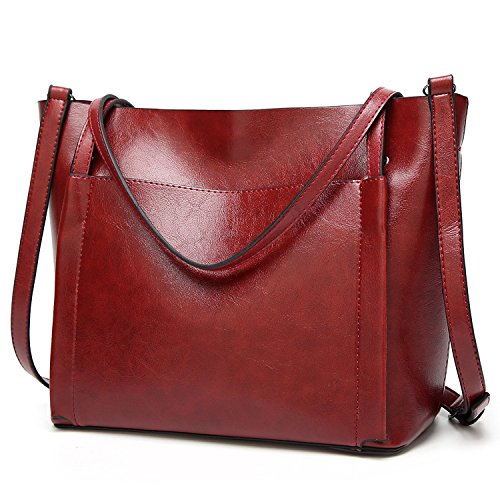 Vincico, Borsa a spalla donna nero Black Red
