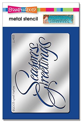 (Unbekannt Stampendous dwll453Dreamweaver Schablone, Script Seasons Greetings)