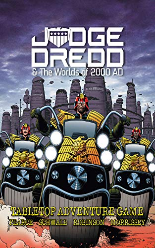 Judge Dredd & The Worlds of 2000 AD: Tabletop Adventure Game (English Edition)