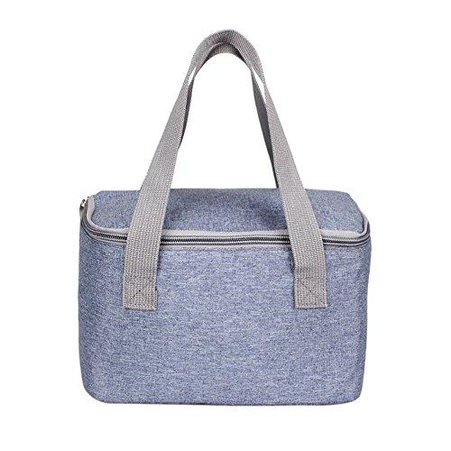 Yilian yecanbao sacchetto cosmetico portatile compatto da sacco per l'isolamento del sacco da pranzo (colore : a)