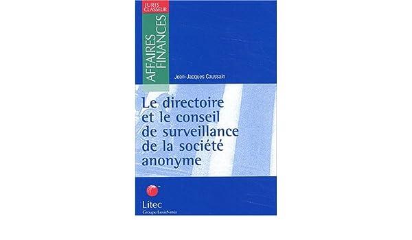 details for most popular excellent quality Amazon.fr - Le directoire et le conseil de surveillance de ...